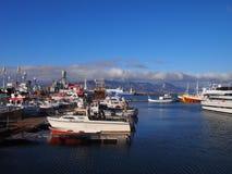 Παλαιό λιμάνι Ισλανδία του Ρέικιαβικ Στοκ Φωτογραφία