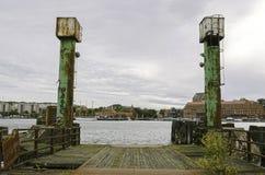 Παλαιό λιμάνι πορθμείων Στοκ Εικόνες