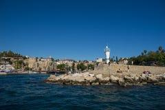 Παλαιό λιμάνι σε Antalya στην Τουρκία Στοκ φωτογραφία με δικαίωμα ελεύθερης χρήσης
