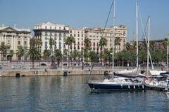 Παλαιό λιμάνι της Βαρκελώνης Στοκ εικόνα με δικαίωμα ελεύθερης χρήσης