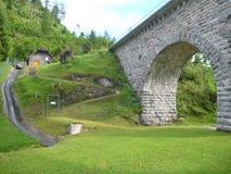Παλαιό ιστορικό aquaduct που συντηρείται καλά στην Αυστρία Στοκ εικόνες με δικαίωμα ελεύθερης χρήσης