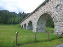 Παλαιό ιστορικό aquaduct που συντηρείται καλά στην Αυστρία Στοκ Εικόνα