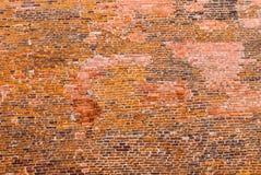 Παλαιό ιστορικό brickwall Στοκ Φωτογραφία