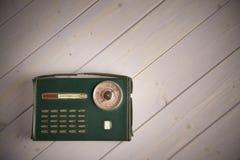 Παλαιό ιταλικό εκλεκτής ποιότητας ραδιόφωνο ύφους στοκ φωτογραφία