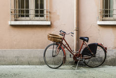Παλαιό ιταλικό ποδήλατο Στοκ Φωτογραφία
