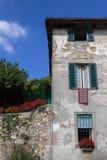 Παλαιό ιταλικό σπίτι στοκ εικόνα με δικαίωμα ελεύθερης χρήσης