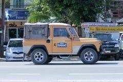 Παλαιό ιδιωτικό αυτοκίνητο Μίνι φορτηγό του Land Rover Στοκ εικόνα με δικαίωμα ελεύθερης χρήσης