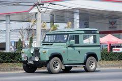 Παλαιό ιδιωτικό αυτοκίνητο Μίνι φορτηγό του Land Rover Στοκ φωτογραφία με δικαίωμα ελεύθερης χρήσης