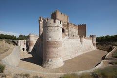 Παλαιό κάστρο. Μεσαιωνικός. Medina del Campo. Ισπανία Στοκ εικόνες με δικαίωμα ελεύθερης χρήσης