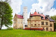 Παλαιό κάστρο σε Lichtenstein, Γερμανία Στοκ Εικόνες