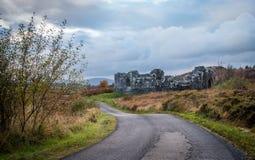 Παλαιό κάστρο στη λίμνη Doon Στοκ εικόνες με δικαίωμα ελεύθερης χρήσης