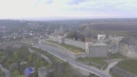 Παλαιό κάστρο στο δυτικό τμήμα της Ουκρανίας φιλμ μικρού μήκους