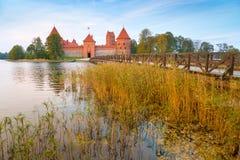 Παλαιό κάστρο στο χρόνο ανατολής Στοκ φωτογραφία με δικαίωμα ελεύθερης χρήσης