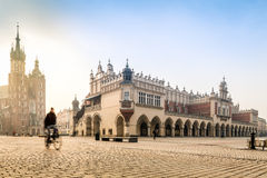 Παλαιό κέντρο πόλεων της Κρακοβίας, Πολωνία Στοκ Φωτογραφίες