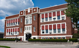 Παλαιό καθολικό σχολικό κτίριο Στοκ εικόνα με δικαίωμα ελεύθερης χρήσης