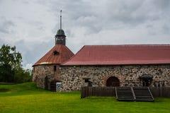 Παλαιό και αρχαίο φρούριο Korela πετρών Η πόλη Στοκ φωτογραφία με δικαίωμα ελεύθερης χρήσης