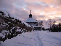 Παλαιό και αρχαίο φρούριο Korela πετρών Η πόλη Στοκ Εικόνα