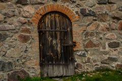 Παλαιό και αρχαίο φρούριο Korela πετρών Η πόλη Priozersk Ρωσία Στοκ φωτογραφία με δικαίωμα ελεύθερης χρήσης