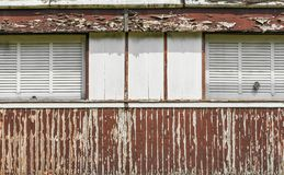 Παλαιό και ραγισμένο χρωματισμένο χρώμα Στοκ φωτογραφίες με δικαίωμα ελεύθερης χρήσης