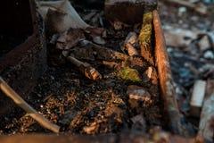 Παλαιό και σκουριασμένο μέταλλο Στοκ εικόνες με δικαίωμα ελεύθερης χρήσης