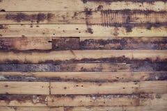 Παλαιό και shabby πάτωμα σύσταση σανίδων ξύλινη Στοκ Εικόνα