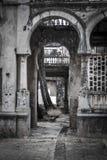 Παλαιό καταρρεσμένο κτήριο στη Μαδαγασκάρη Στοκ Φωτογραφίες