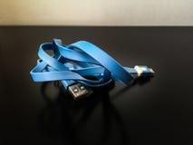 Παλαιό καλώδιο USB Στοκ φωτογραφίες με δικαίωμα ελεύθερης χρήσης