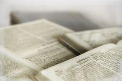 Παλαιό κείμενο από ένα βιβλίο στοκ εικόνα