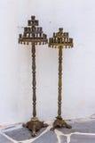 Παλαιό κηροπήγιο δύο στοκ φωτογραφία