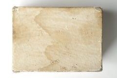 Παλαιό κιβώτιο πινάκων καρτών Στοκ Φωτογραφία