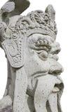 Παλαιό κινεζικό άγαλμα πετρών στο wat Po Στοκ φωτογραφία με δικαίωμα ελεύθερης χρήσης
