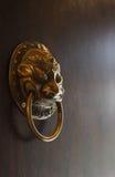 Παλαιό κινεζικό doorknob, κινεζική έννοια Στοκ φωτογραφία με δικαίωμα ελεύθερης χρήσης