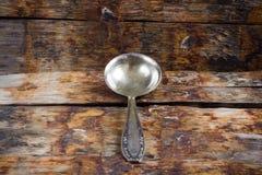 παλαιό κουτάλι Στοκ Φωτογραφία