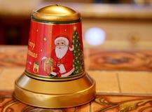 Παλαιό κουδούνι Χριστουγέννων Στοκ φωτογραφίες με δικαίωμα ελεύθερης χρήσης