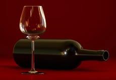 παλαιό κρασί ραφιών μπουκαλιών Στοκ εικόνες με δικαίωμα ελεύθερης χρήσης