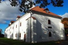 Παλαιό κτήριο σε Narva Στοκ Εικόνες