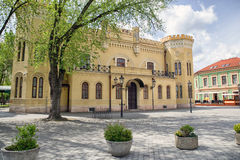 Παλαιό κτήριο στην πόλη Komarno, Σλοβακία στοκ εικόνες με δικαίωμα ελεύθερης χρήσης