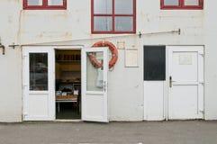 Παλαιό κτήριο στο κεφάλαιο Νησιών Φερόες Στοκ φωτογραφία με δικαίωμα ελεύθερης χρήσης