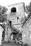 Παλαιό κτήριο στο ναυπηγείο μοναστηριών ` s Στοκ εικόνες με δικαίωμα ελεύθερης χρήσης