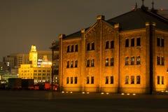 Παλαιό κτήριο τούβλου Στοκ Εικόνα
