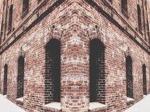 Παλαιό κτήριο τούβλου Στοκ Φωτογραφία