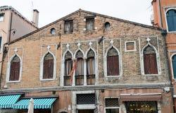 Παλαιό κτήριο Murano στοκ εικόνα