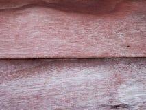 Παλαιό κόκκινο ξύλινο υπόβαθρο σύστασης Στοκ Φωτογραφία