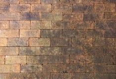 παλαιό κόκκινο τούβλου Στοκ Εικόνες