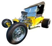 Παλαιό κλασικό εκλεκτής ποιότητας καυτό αυτοκίνητο ράβδων που απομονώνεται Στοκ φωτογραφίες με δικαίωμα ελεύθερης χρήσης