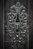παλαιό κλείδωμα πορτών Στοκ Φωτογραφίες