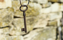 Παλαιό κλειδί Στοκ Εικόνες
