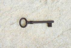 Παλαιό κλειδί Στοκ φωτογραφία με δικαίωμα ελεύθερης χρήσης