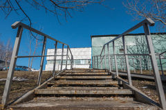 Παλαιό κλιμακοστάσιο σιδήρου Στοκ Φωτογραφίες