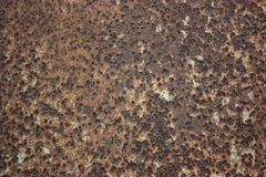 Παλαιό μέταλλο σκουριασμένο Στοκ Φωτογραφία